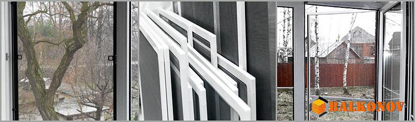 Москитные сетки на пластиковые окна, двери киев, цена - узна.